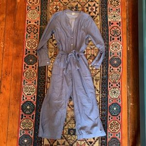 Old Navy Chambray Utility Jumpsuit